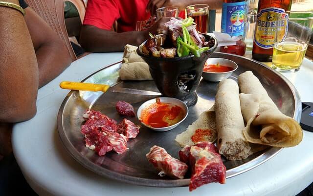 Tradicinis Etiopijos maistas